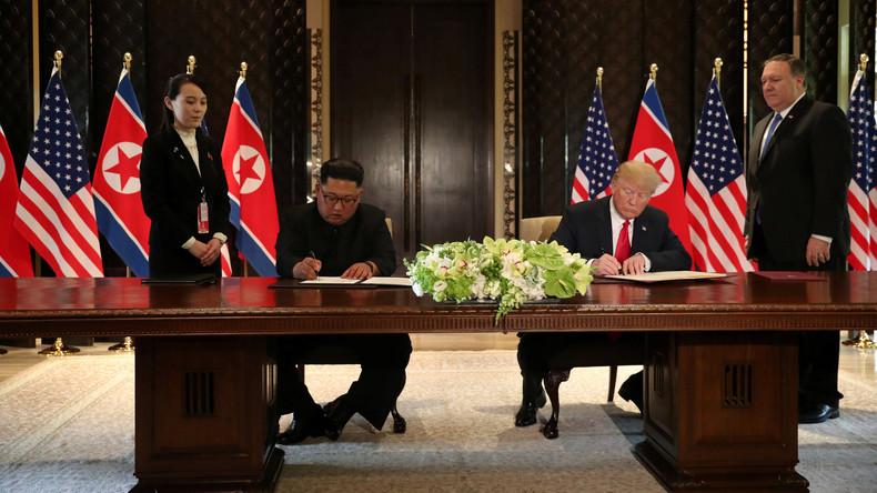 Historischer Durchbruch: Trump und Kim unterzeichnen Vereinbarung