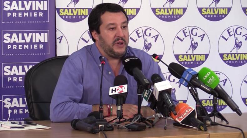 """Italien - Salvini zur Hafen-Schließung für Migranten: """"Ich will diesen Menschenhandel beenden!"""""""