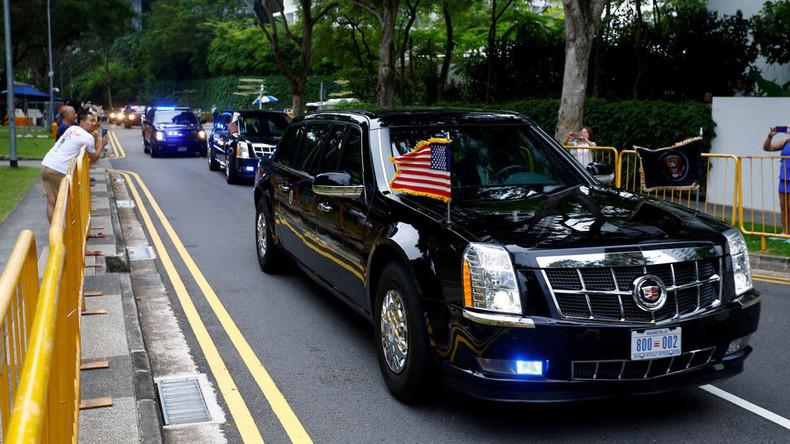 Nukleare Abrüstung beiseite – reden wir über Autos: Trump zeigt Kim seine Limousine