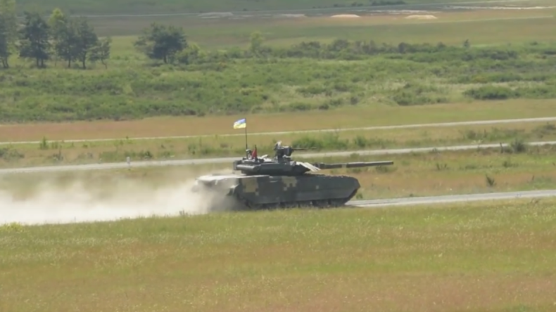 US-Video zeigt ukrainische Panzer in Deutschland - Bundesregierung will nichts darüber wissen