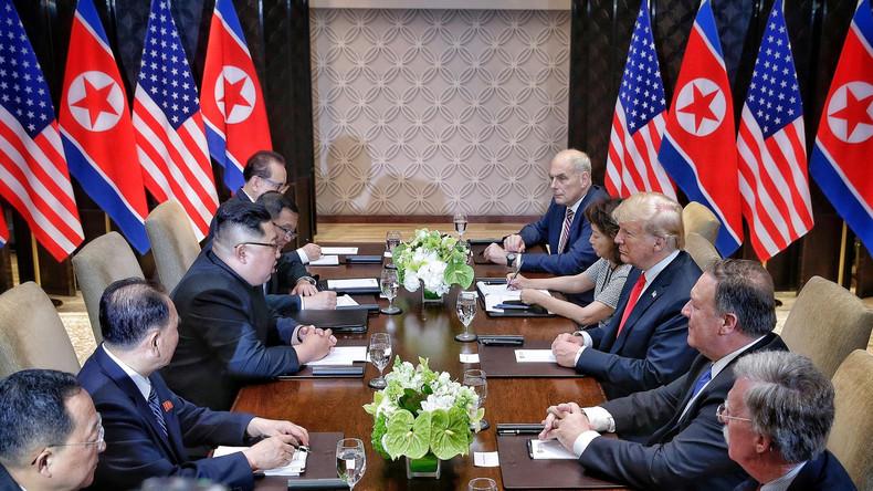 Nach Gipfel von Trump und Kim: Weltweit positives Echo - Deutsche Politiker eher skeptisch