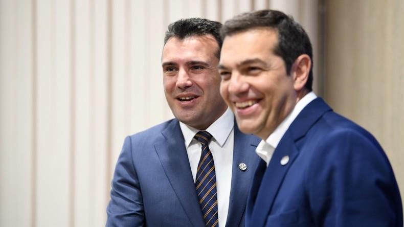 Tsipras: Kompromiss im Mazedonien-Namensstreit gefunden
