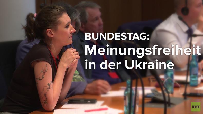 Veranstaltung im Bundestag: Menschenrechte und Medienfreiheit in der Ukraine