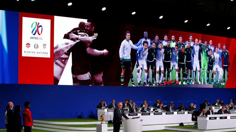 Live: Gastgeberland für FIFA Fussball-WM 2026 wird in Moskau bekannt gegeben
