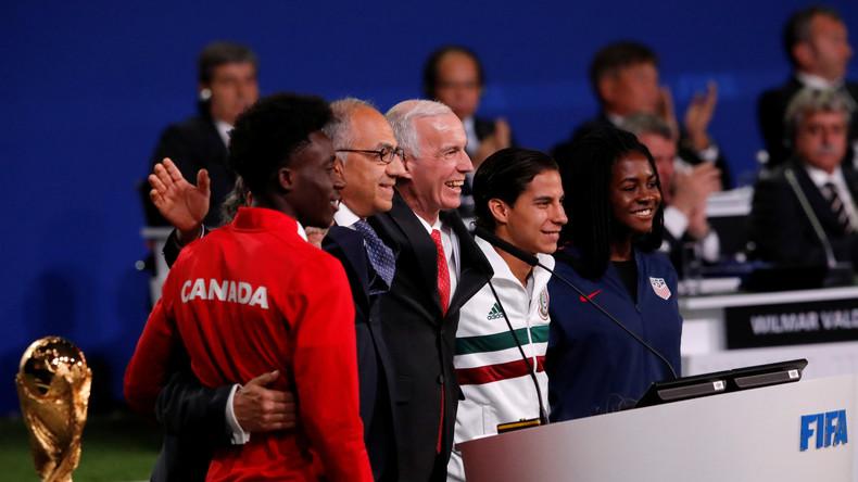 USA, Kanada und Mexiko erhalten Zuschlag für erste XXL-Fußball-WM 2026