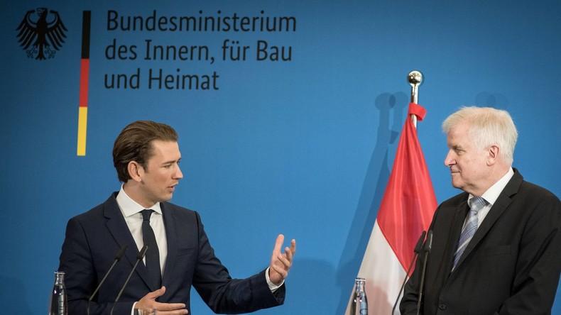 """Im Kampf gegen illegale Migration: Österreichs Kanzler Kurz fordert """"Achse der Willigen"""""""