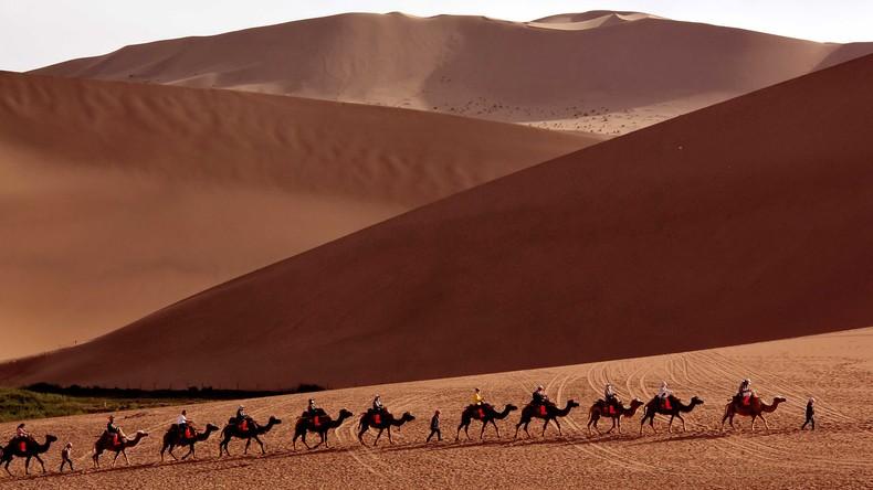 Frisches Trinkwasser aus Wüstenluft - neue Technik erhöht Ernte des kostbaren Nass ohne Strom