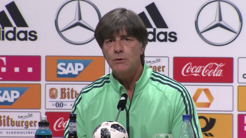 """Löw vor erstem WM-Spiel 2018: """"Mexiko spielt zwar sehr aggressiv, aber ich bin dennoch optimistisch"""""""