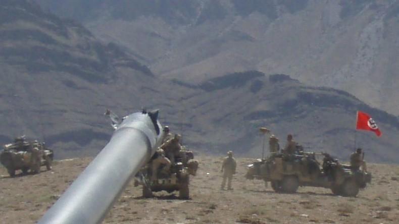 Afghanistan: Foto von australischem Militärfahrzeug mit Hakenkreuzfahne sorgt für Skandal