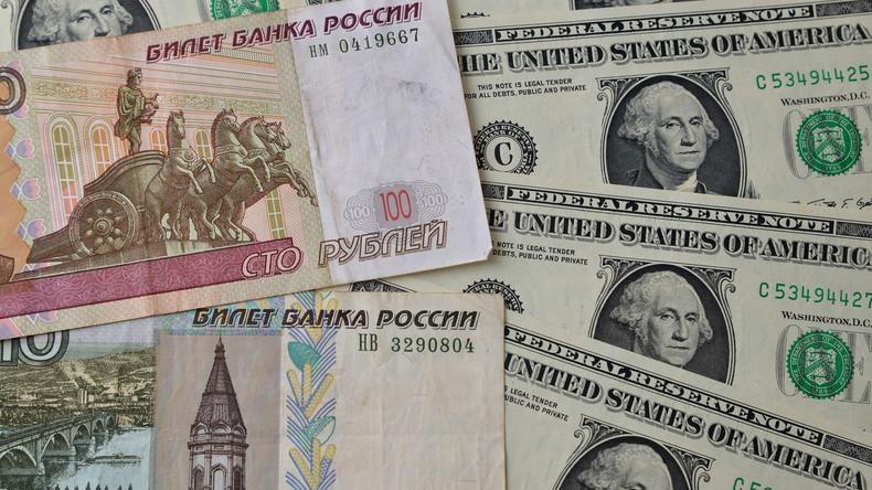Пока́! – Russland und Weißrussland verzichten im Handel auf US-Dollar