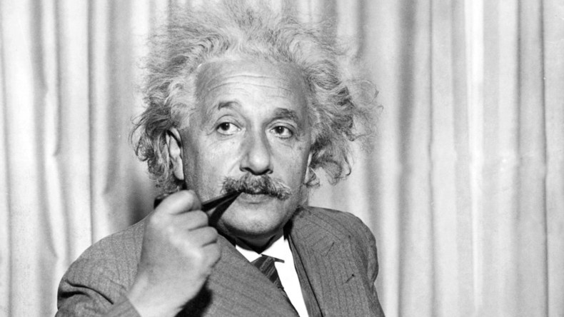 """Rassismus ist heilbar: Albert Einstein von """"Krankheit der weißen Menschen"""" betroffen und kuriert"""