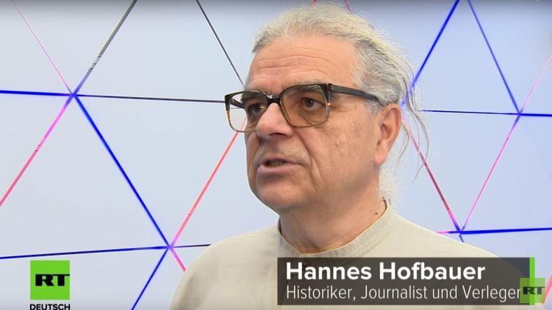 """RT im Gespräch mit Publizisten Hannes Hofbauer: """"WM 2018 bietet Chance, für Entspannung zu sorgen"""""""