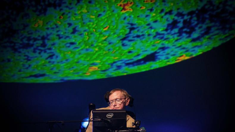 Stephen Hawkings Botschaft wird in ein Schwarzes Loch gestrahlt