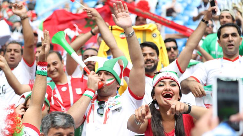 Fußball-WM: Iraner feiern zweiten Sieg in WM-Geschichte