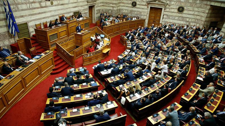 Griechisches Parlament lehnt Misstrauensantrag nach Mazedonien-Kompromiss ab