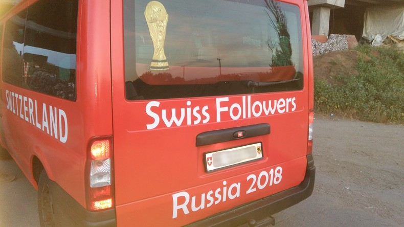 Kriegszone statt WM-Spiel: Navigationssystem führt Schweizer Fans nach Donbass