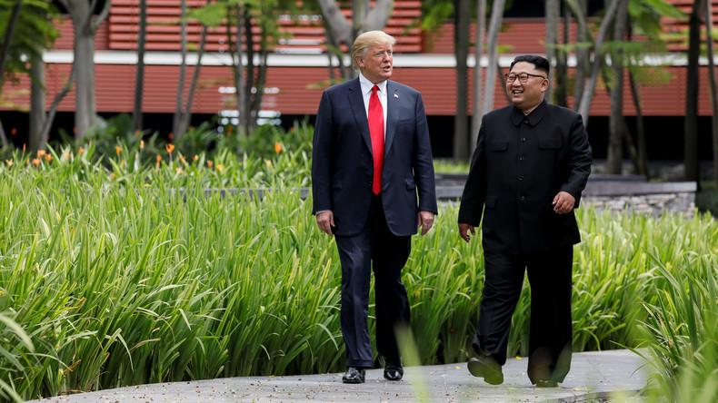 Trump beklagt zu wenig Anerkennung für Nordkorea-Gipfel
