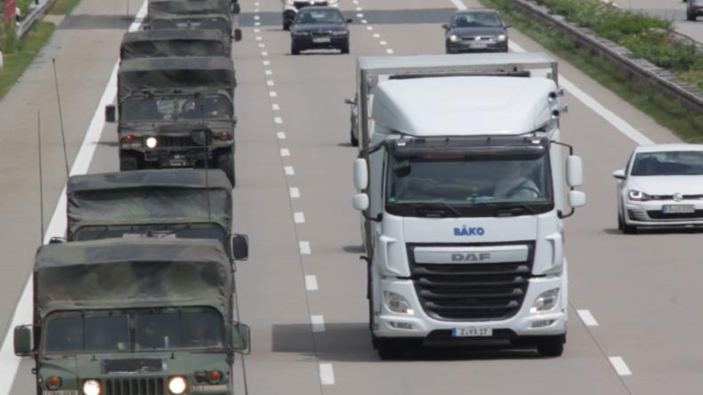 Exklusiv: Nach umfassender NATO-Übung gegen Russland - Militärgerät kehrt zurück nach Deutschland