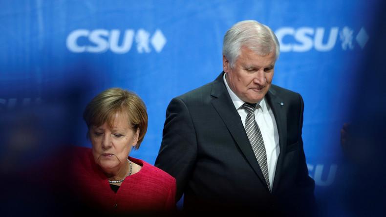 Umfrage: Bürger in Bayern befürworten im Asylstreit Koalitionsbruch