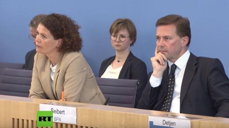 Regierungspressekonferenz zu Skripal: Hat die Bundesregierung den Deutschen Bundestag angelogen?