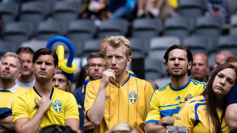 Schwedische Tränen am Flughafen - Flug zum WM-Spiel abgesagt