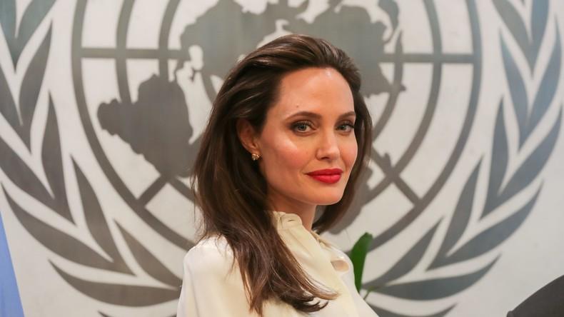 Kriegserbe: Angelina Jolie besucht Mossul (Video)