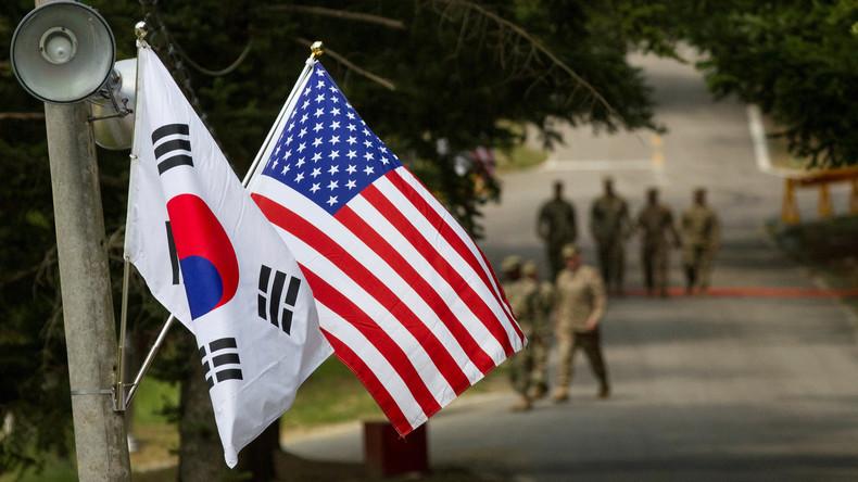 USA stoppen Planungen für gemeinsames Manöver mit Südkorea