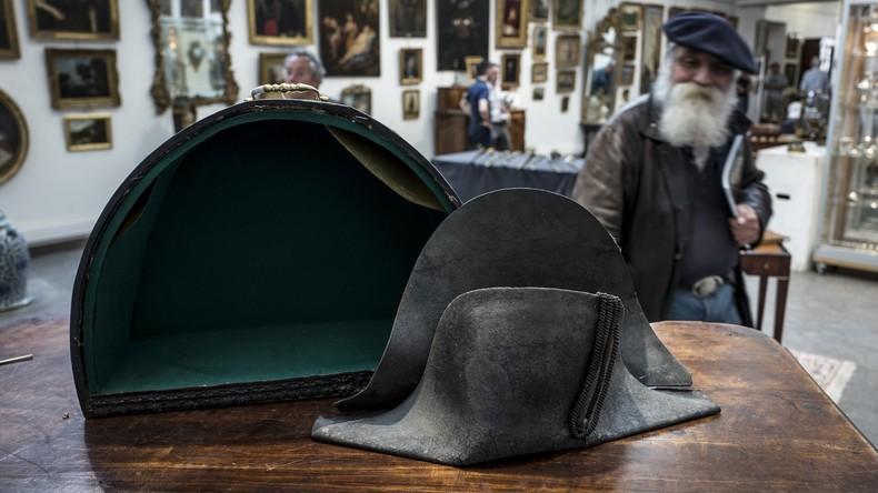 Ganz alter Hut: Kopfbedeckung von Napoleon Bonaparte für 350.000 Euro verkauft