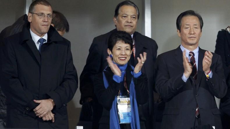 Fußballbegeisterte Prinzessin: Hisako Takama zu Besuch im russischen Saransk