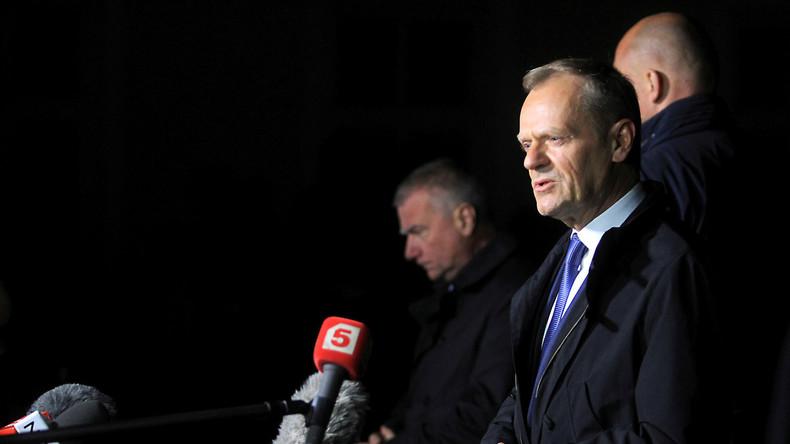 Asylstreit: EU-Ratspräsident Tusk will Sammelstellen für Flüchtlingeaußerhalb der EU