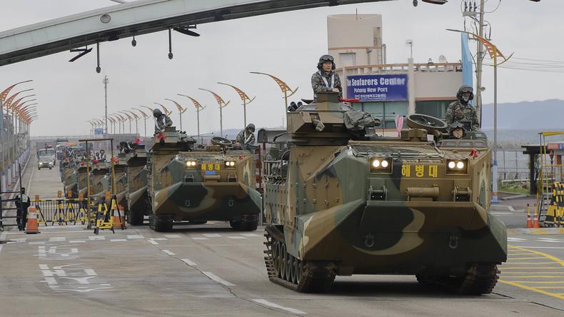 Entspannung: USA und Südkorea setzen gemeinsame Manöver aus (Video)