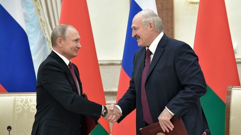 Russland und Weißrussland beraten über weitere Integration