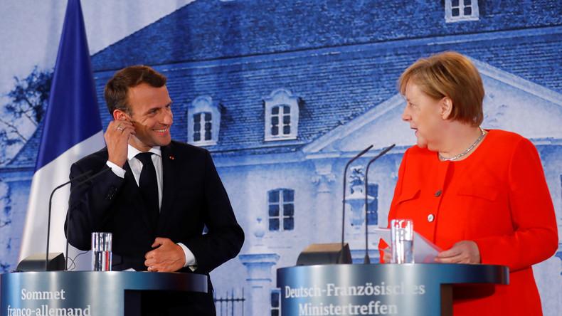 Rückendeckung für die Kanzlerin: Merkel und Macron verbünden sich für große EU- und Asylreform