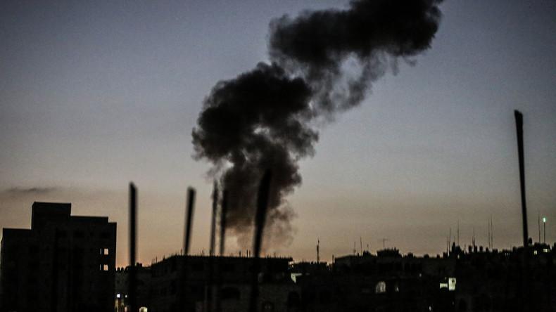 Israel von Raketen aus Gazastreifen beschossen - Armee reagiert mit Luftangriffen