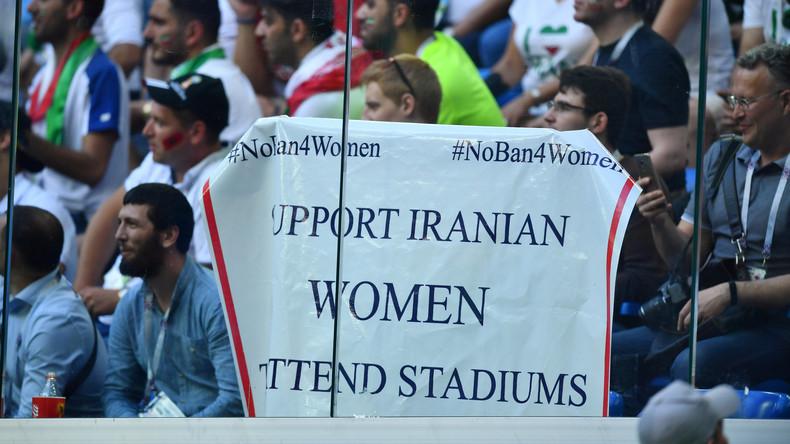 Irans Frauen dürfen zum Public Viewing ins Stadion – erstmals seit 1979