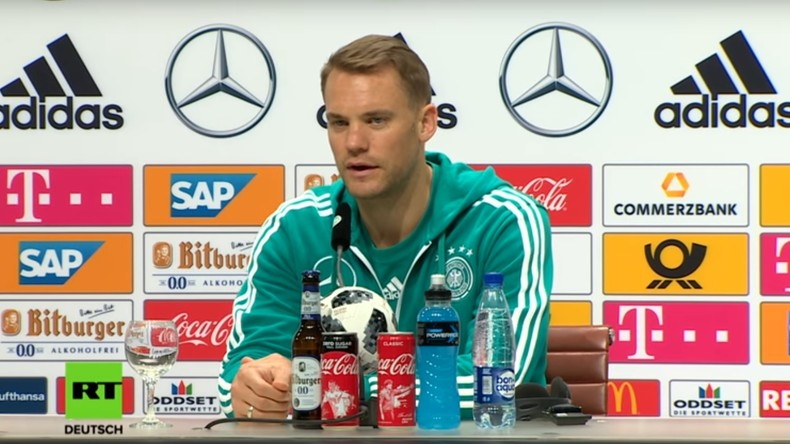 """Manuel Neuer: """"Manche hätten am liebsten am gleichen Tag gegen Schweden gespielt"""" (Video)"""