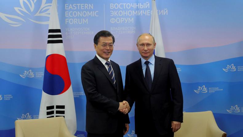Südkoreas Präsident betont gemeinsame Ziele mit Russland: Frieden und Ausbau der Transsib