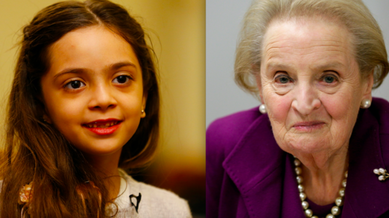 Berlin: Atlantic Council ehrt Madeleine Albright und Bana Alabed mit Freedom Award
