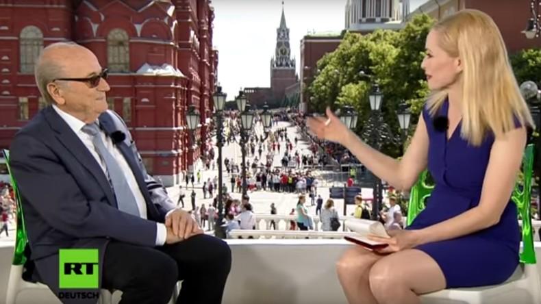 Ex-FIFA-Chef Blatter: Fußball bewegt mehr als jede andere Sportart (Video)