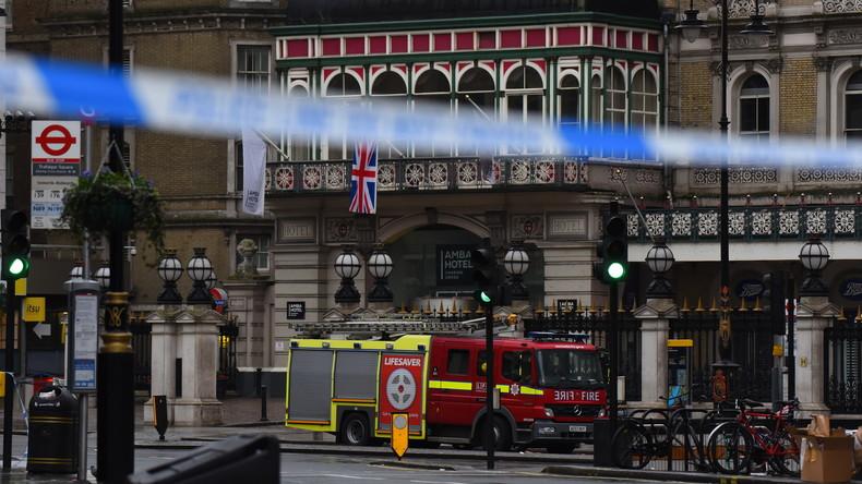 Londoner Charing-Cross-Bahnhof nach Berichten über Mann mit Bombe evakuiert