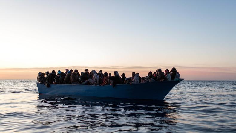 Rund 220 Flüchtlinge in den vergangenen Tagen im Mittelmeer ertrunken