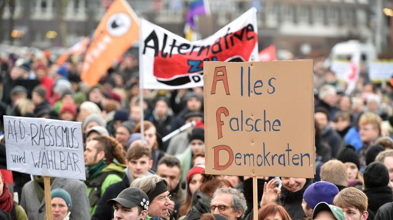 Protest gegen AfD-Büro in Bremen: Interview mit AfD-Politiker Frank Magnitz