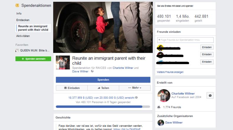 Facebook: Fake-News-Vorwurf nach Spendenkampagne mit irreführendem Bild