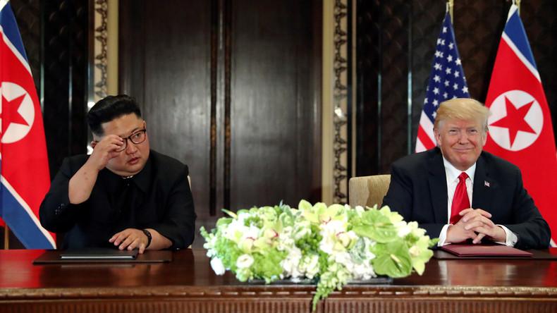 Trump verlängert Sanktionen gegen Nordkorea um ein weiteres Jahr
