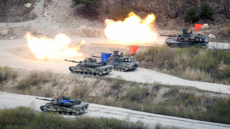 USA setzen gemeinsame Manöver mit Südkorea aus