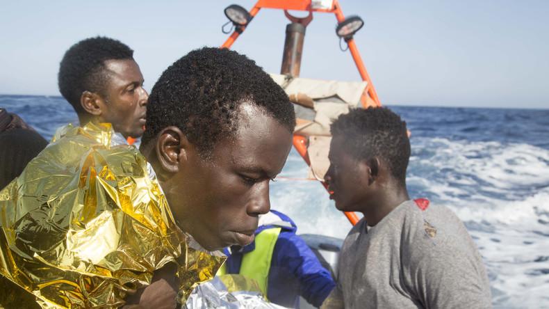 Libyens Küstenwache rettet 175 Flüchtlinge aus Seenot