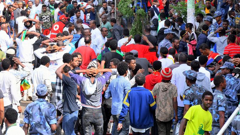 Explosion bei Kundgebung mit Äthiopiens Regierungschef: Mehrere Tote und Verletzte