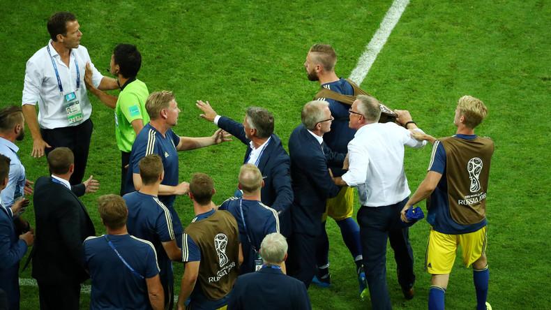 DFB-Team entschuldigt sich für einige Jubelgesten vor Schwedens Bank