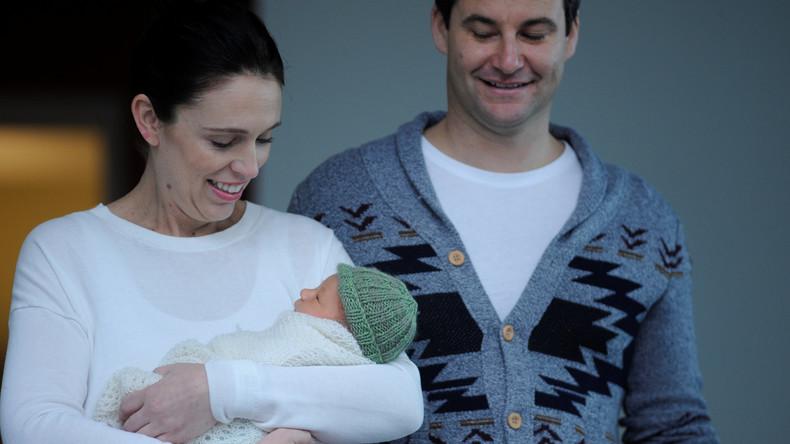 Neuseelands Regierungschefin präsentiert ihr Baby