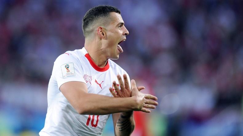 Schweizer Fußball-Verband verteidigt Xhaka und Shaqiri nach umstrittenen Jubelgesten